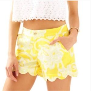 Lilly Pulitzer Dandelion Buttercup Shorts
